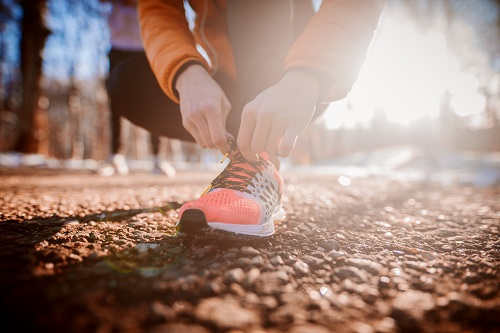 sneakers-wandeling