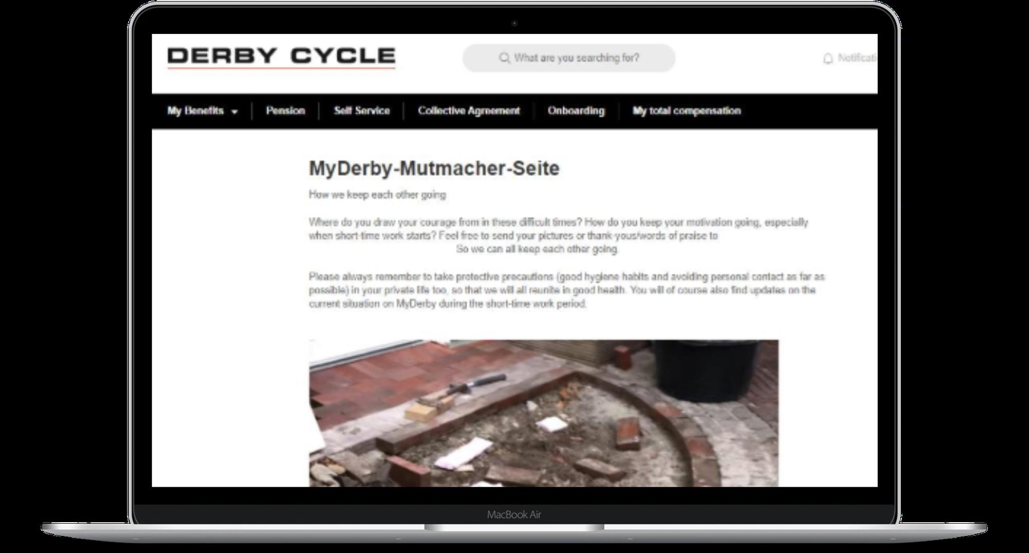 Derby-Platform